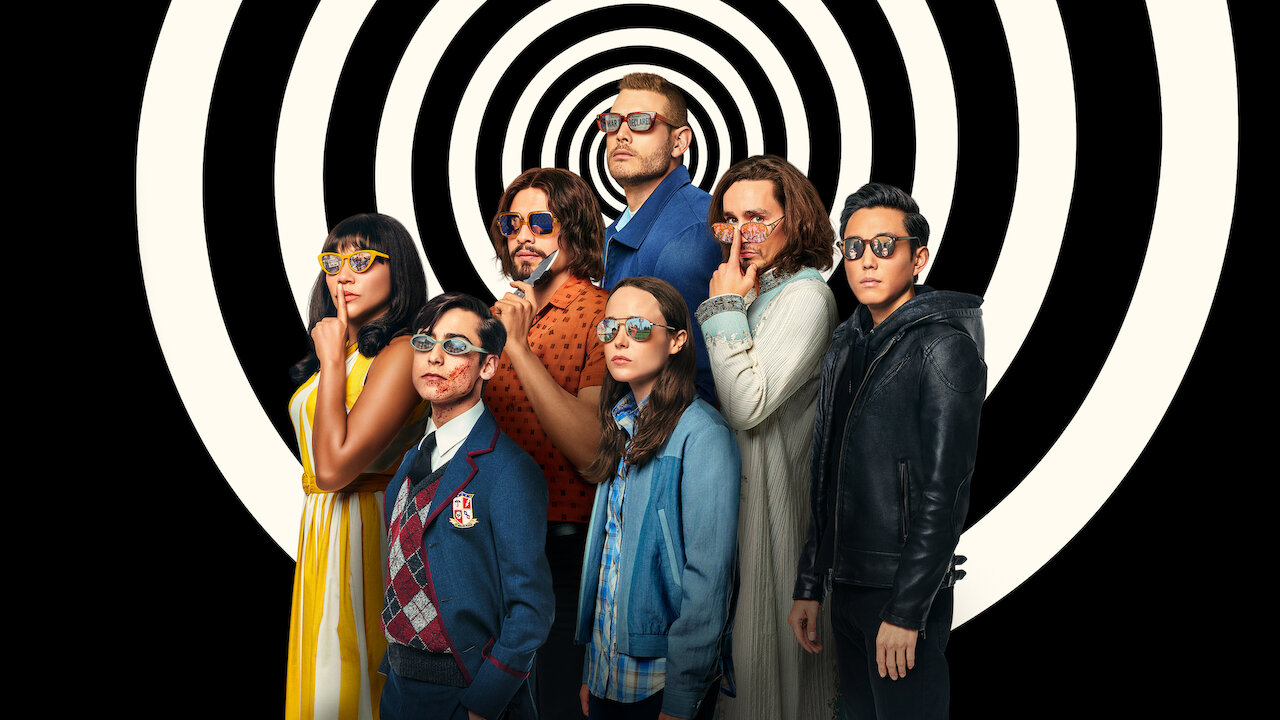 umbrella academy cast promo image